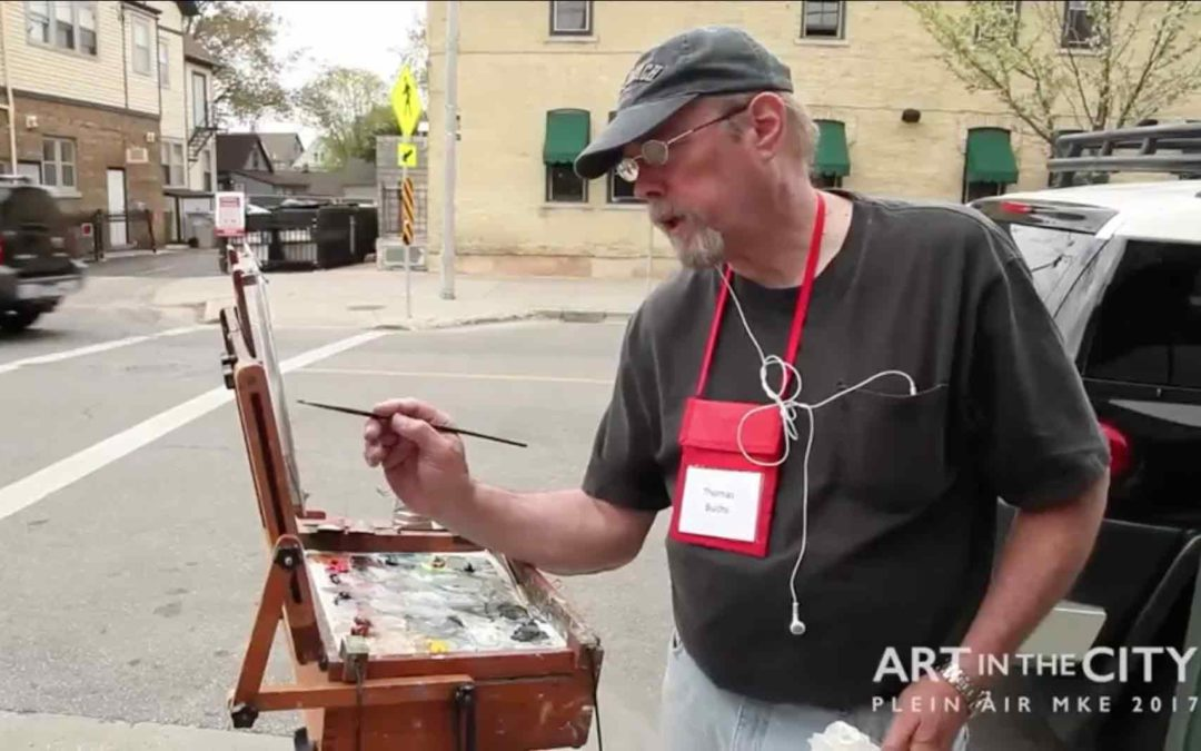 Milwaukee Museum Mile – Plein Air MKE